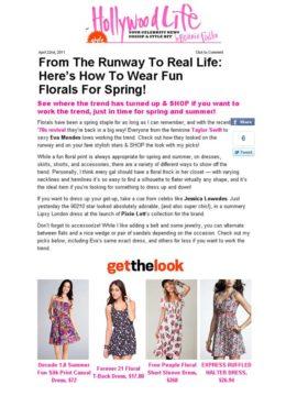 dress HollywoodLife.com
