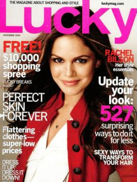 dress in lucky magazine