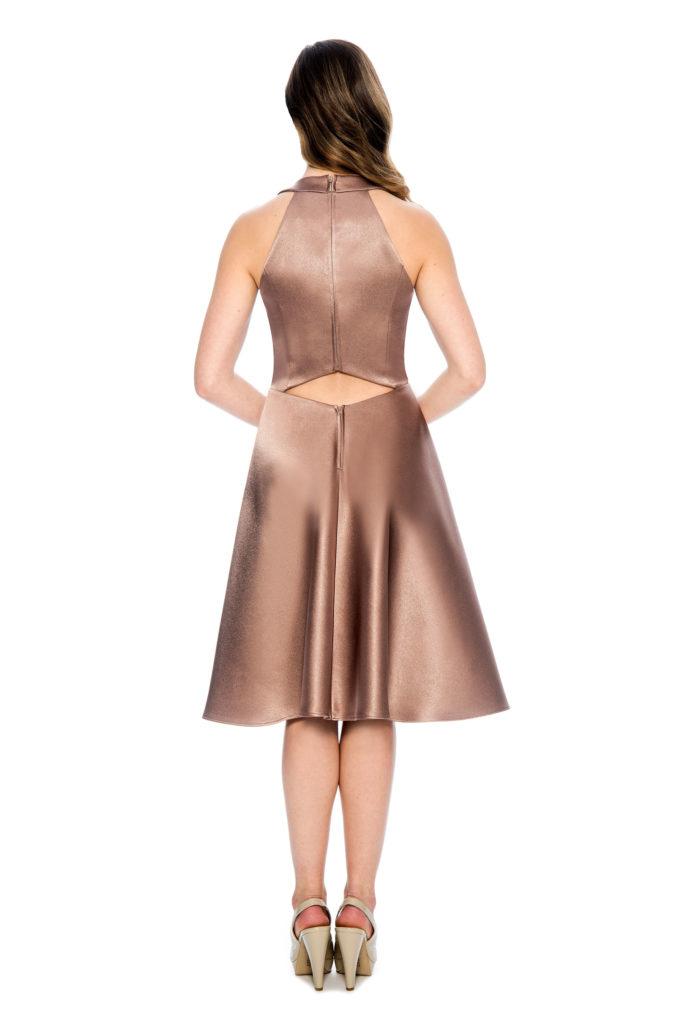 V neck short dress - bridesmaid dress - short cocktail party dress - prom dress - homecoming dress