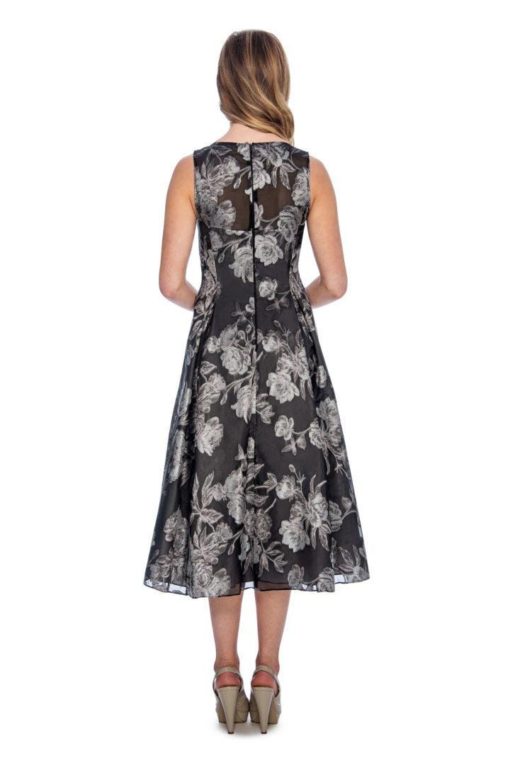 floral print, A line, short dress