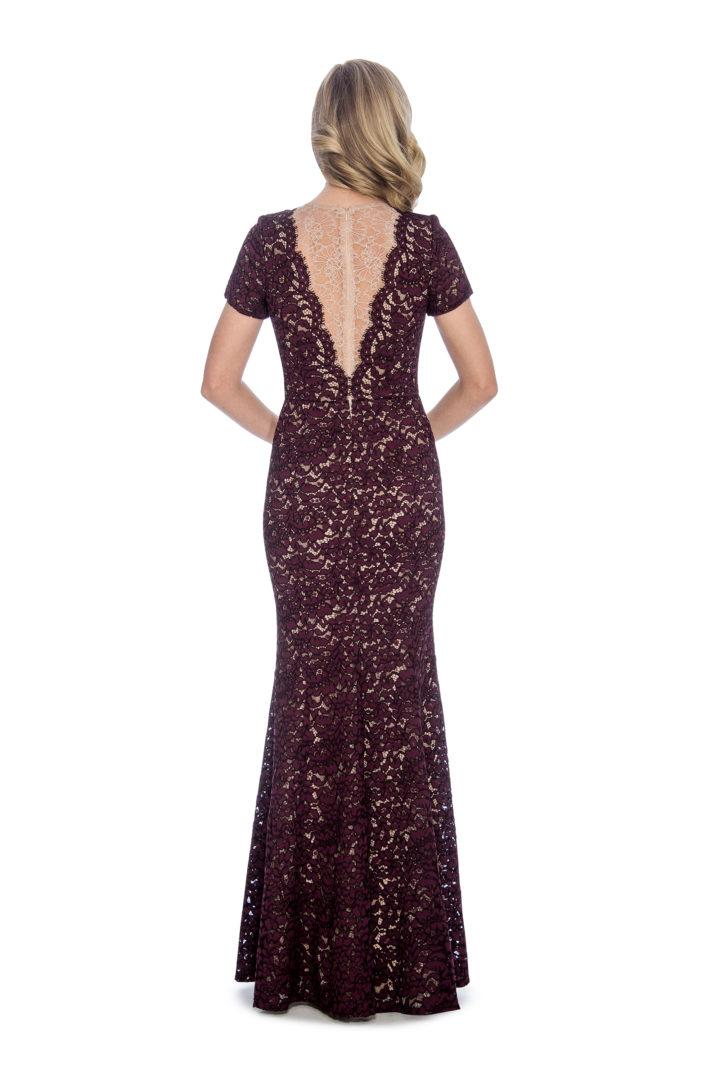 Lace, mermaid, long dress