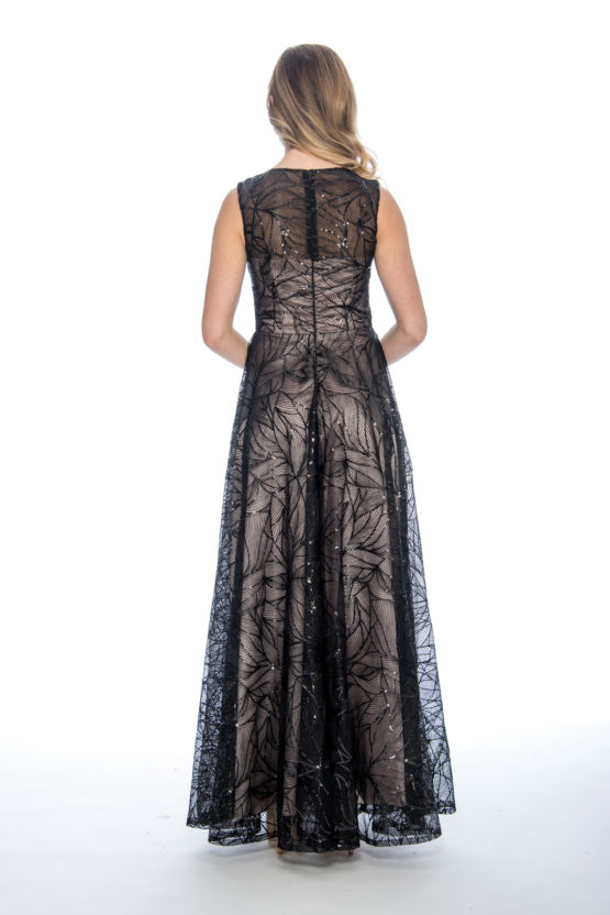 Sequin, embroidery, ballgown, long dress