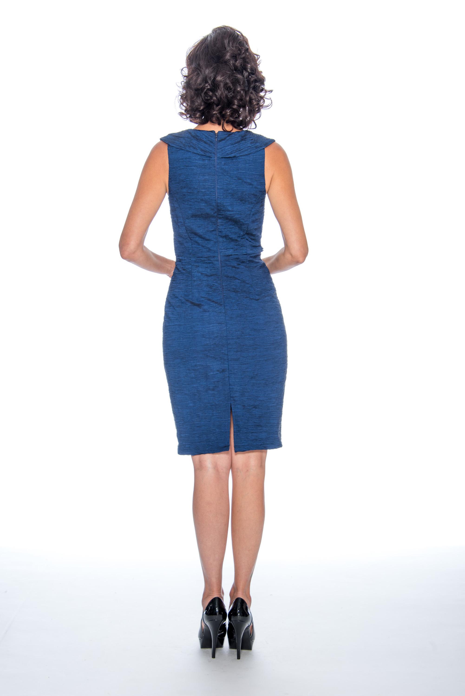 V neck, short, cocktail dress